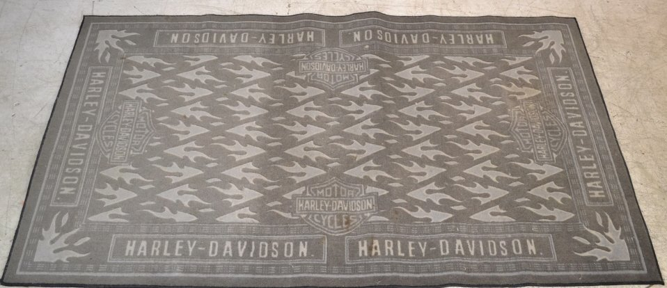 Harley Davidson Roadhouse Collection Area Rug Harley