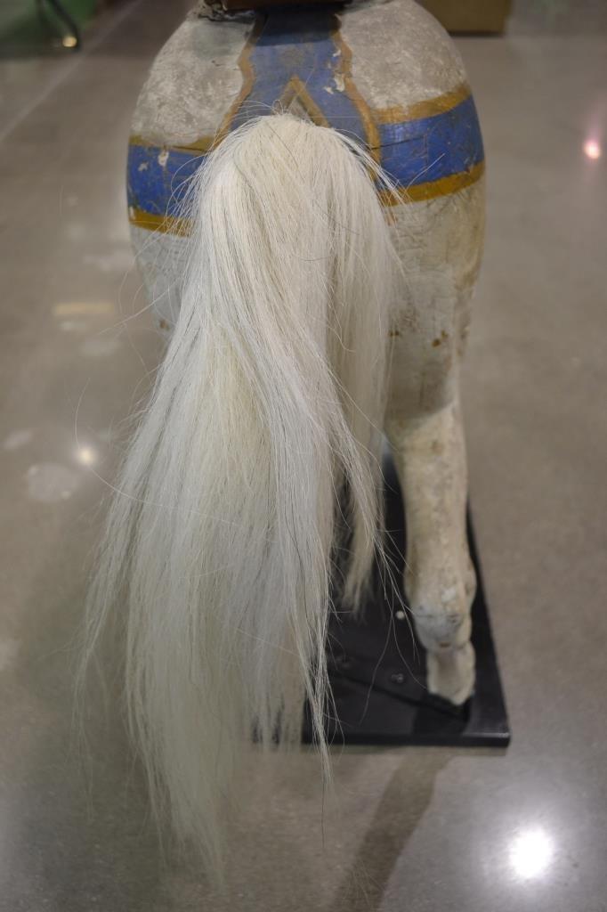 Heyn Glass Eye Wood Carousel Horse Carved Glass Eye - 5