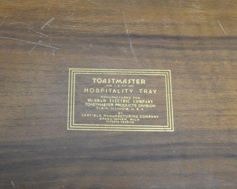 "Vintage 26 x 16"" Toastmaster Hospitality Tray Vintage - 2"