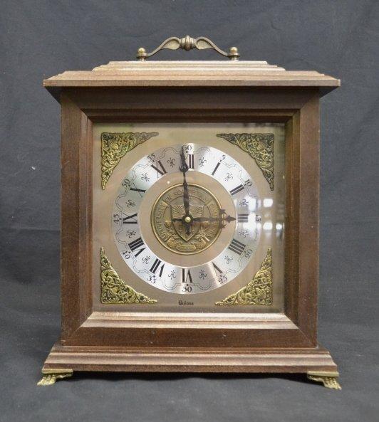 Vintage BULOVA Mantel Clock- USC Center Plate Vintage