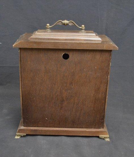 Vintage BULOVA Mantel Clock- USC Center Plate Vintage - 2