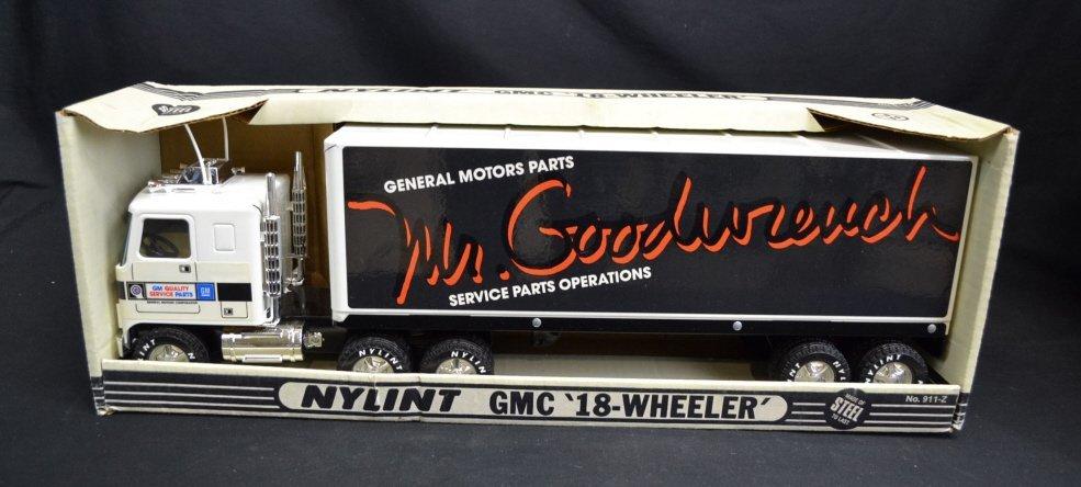 Nylint GMC 18 Wheeler Scale Model Truck Nylint GMC 18