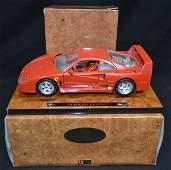 2- Bburago Ferrari F40 (1987) Scale Model Cars 2 -