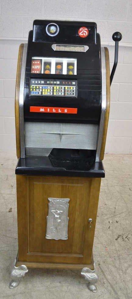 Mills Novelty Co. One-Armed Bandit Slot Machine Mills