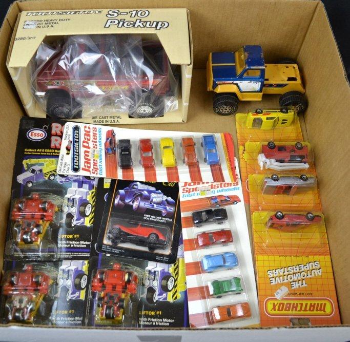 TootsieToy S-10 Pickup Model & Jam Pac Speedsters,
