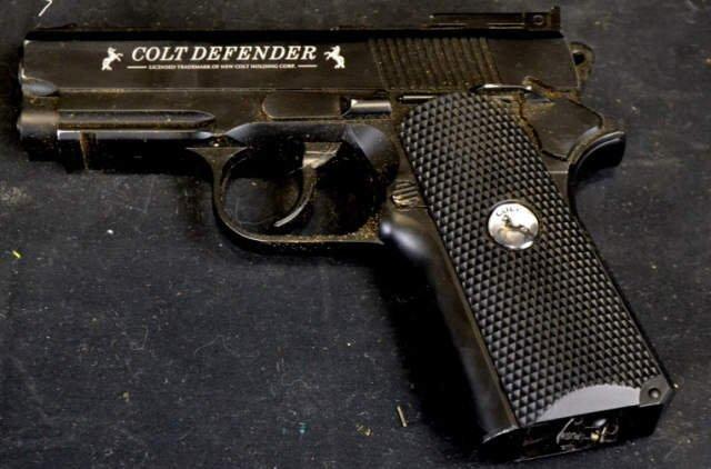 Colt Defender Co2 Powered BB Gun