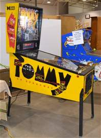 1994 Data East Tommy Pinball Machine, Working