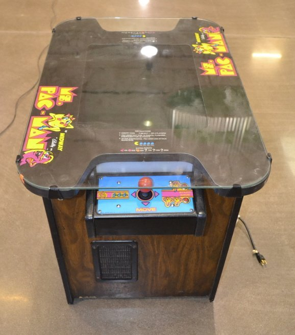 Ms. Pac-Man Coin Op Table Cabinet By Midway
