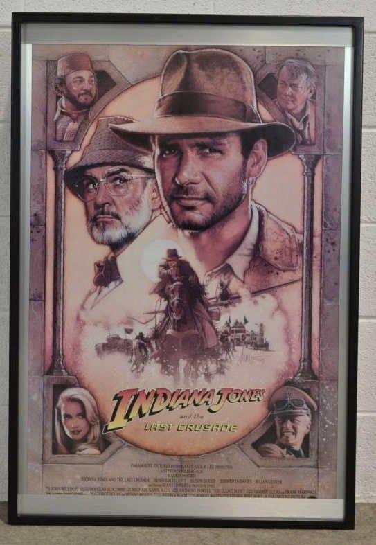 Movie Poster Marquee / Shadowbox, Indiana Jones