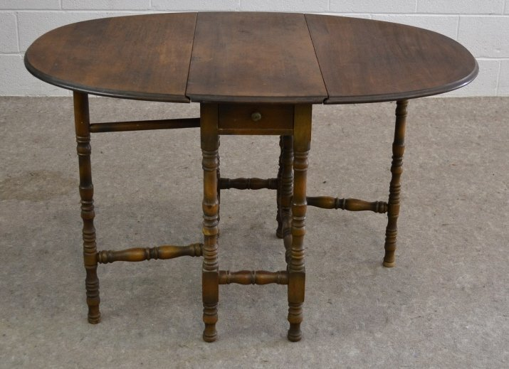 Imperial Drop Leaf Swing Gate Leg Table, MI