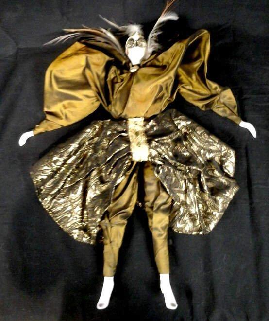 Marie Paule Rigodon, French Stuffed Doll Porcelain - 2
