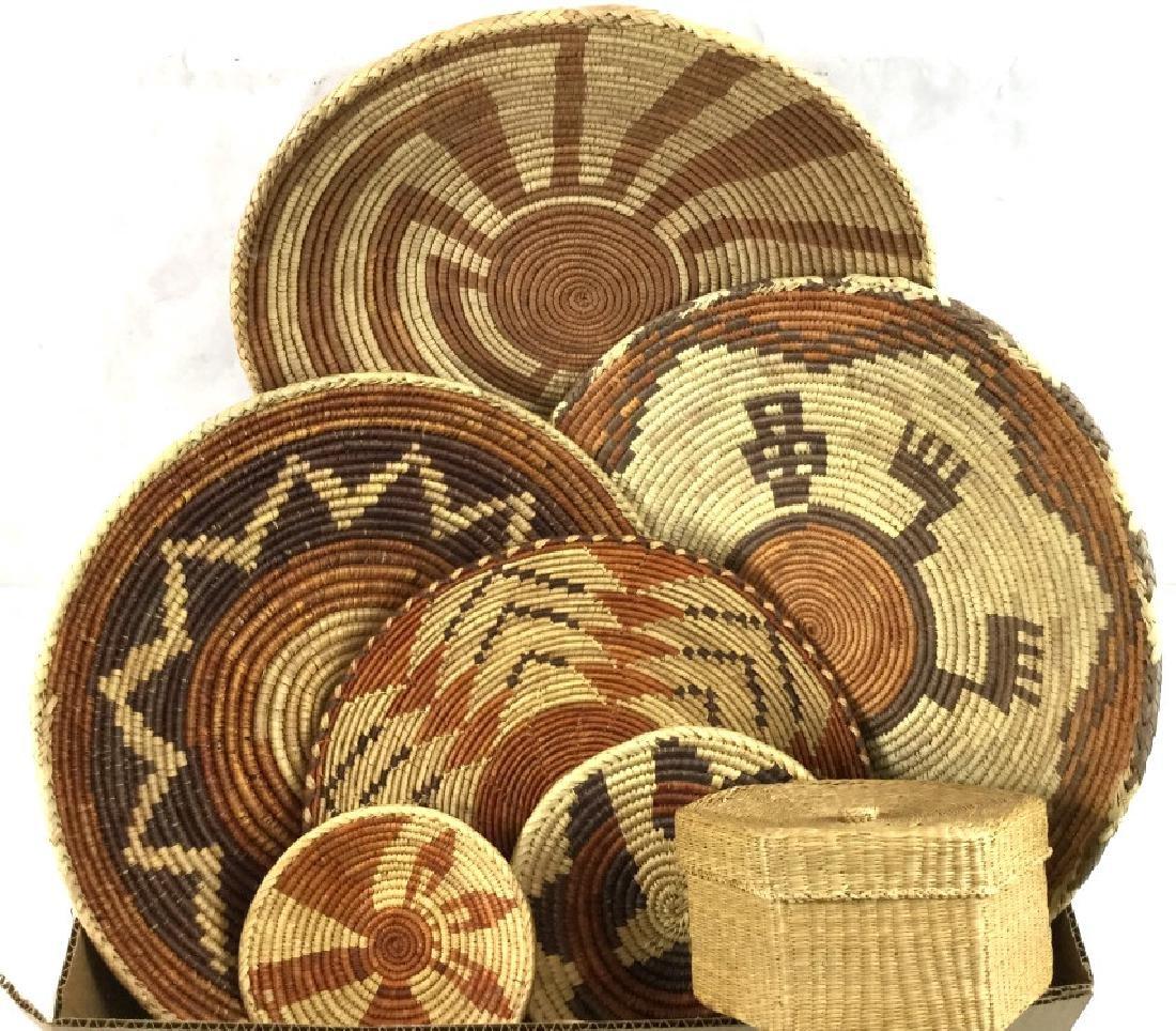 Southwestern Style Handwoven Baskets