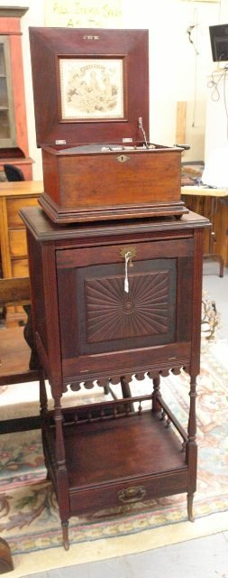 Very Rare Criterion Disk Player and Cabinet