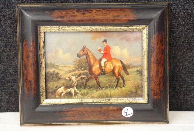 Very Early Oil On Board - signed
