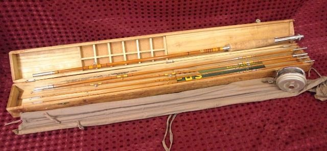 Early Bamboo 4 piece Fly Rod