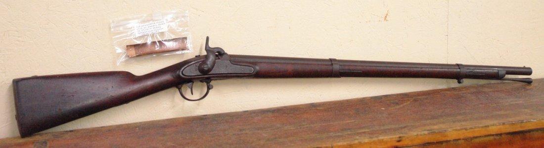 M1842 Springfield Musket, Rare Dated 1844 Lock