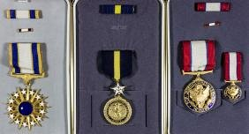 AMERICAN DISTINGUISHED SERVICE MEDALS