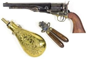 REPRODUCTION COLT ARMY MODEL 1860 REVOLVER AND