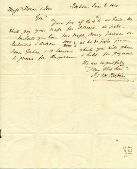 (SLAVE TRADER) THOMAS HANDASYD PERKINS