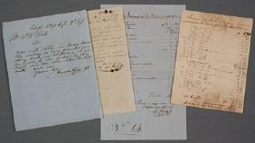(TEXAS) EAGLE PASS MERCHANT DOCUMENTS, 1854-1857