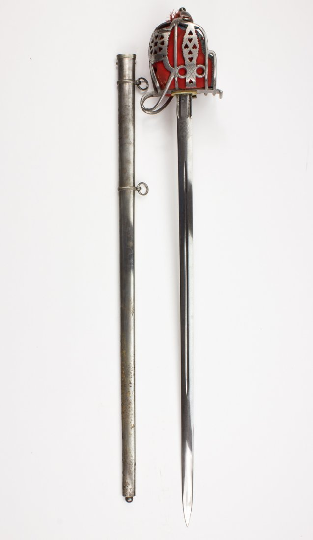 1828 PATTERN HIGHLAND OFFICER'S SWORD, BY HENRY WILKINS