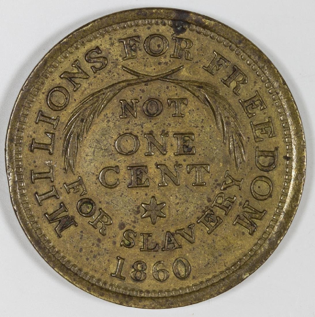 1860 REPUBLICAN TOKEN
