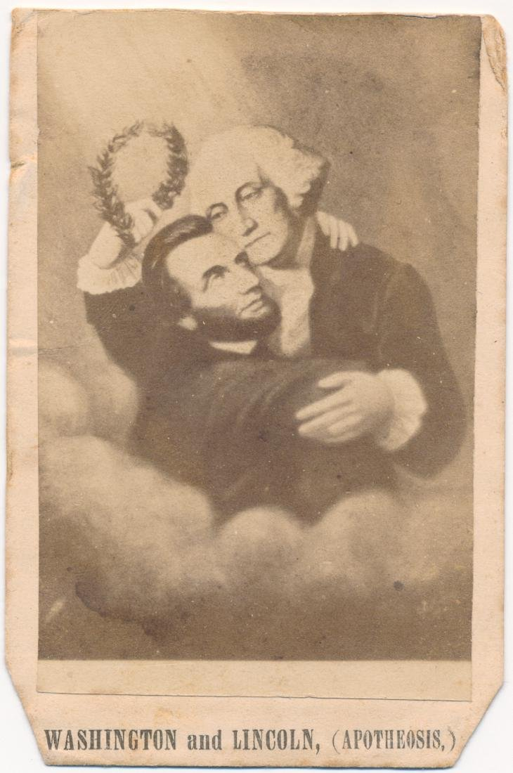 WASHINGTON AND LINCOLN (APOTHEOSIS)