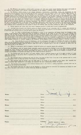 JIMI HENDRIX SELLS THE RIGHTS TO ONE OF HIS SONGS