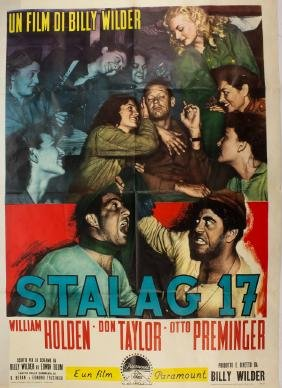 """STALAG 17"" FILM POSTERS"