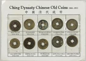 CHINESE AND RUSSIAN COINS