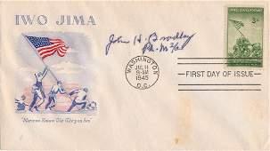 IWO JIMA FLAG-RAISER JOHN H. BRADLEY