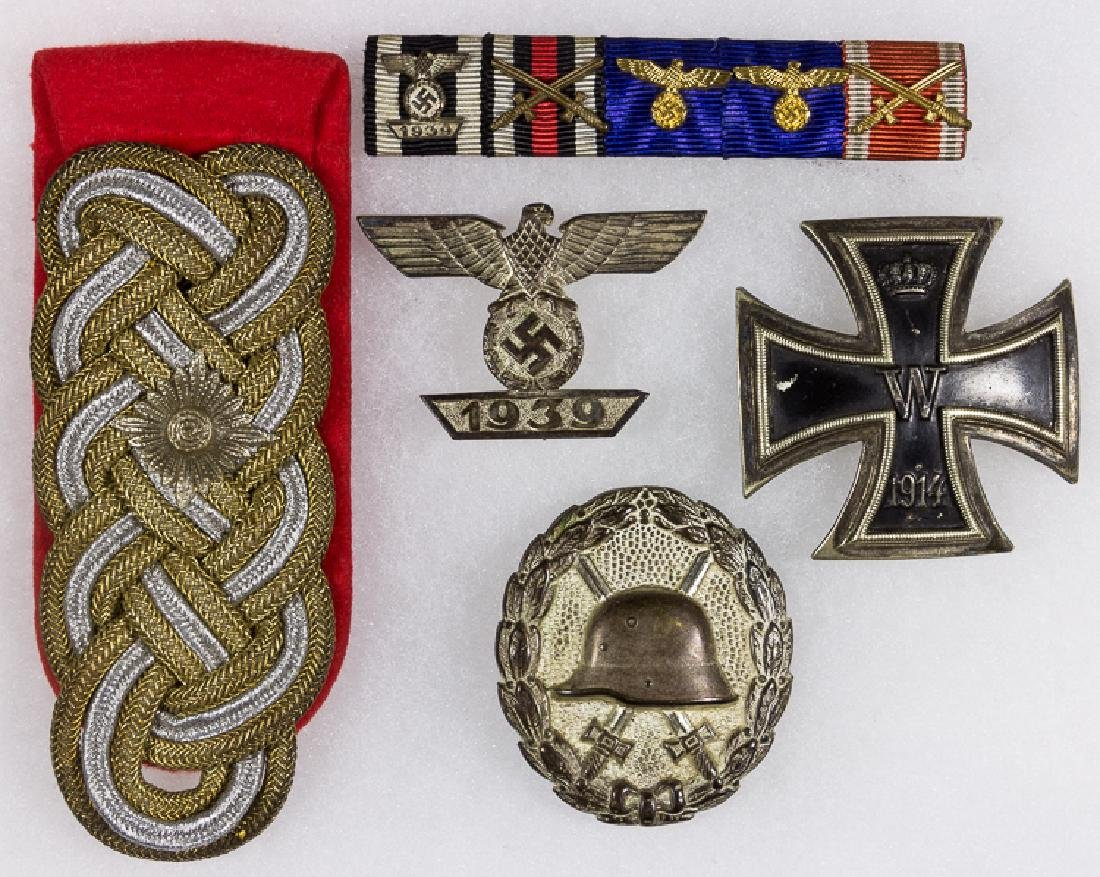 GENERAL ALFRED KRETSCHMER MEDALS AND INSIGNIA GROUPING