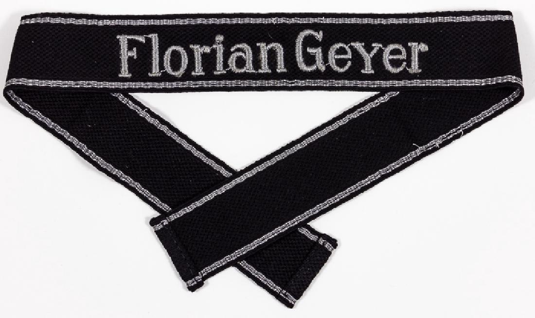 "SS ""FLORIAN GEYER"" DIVISION CUFF TITLE"