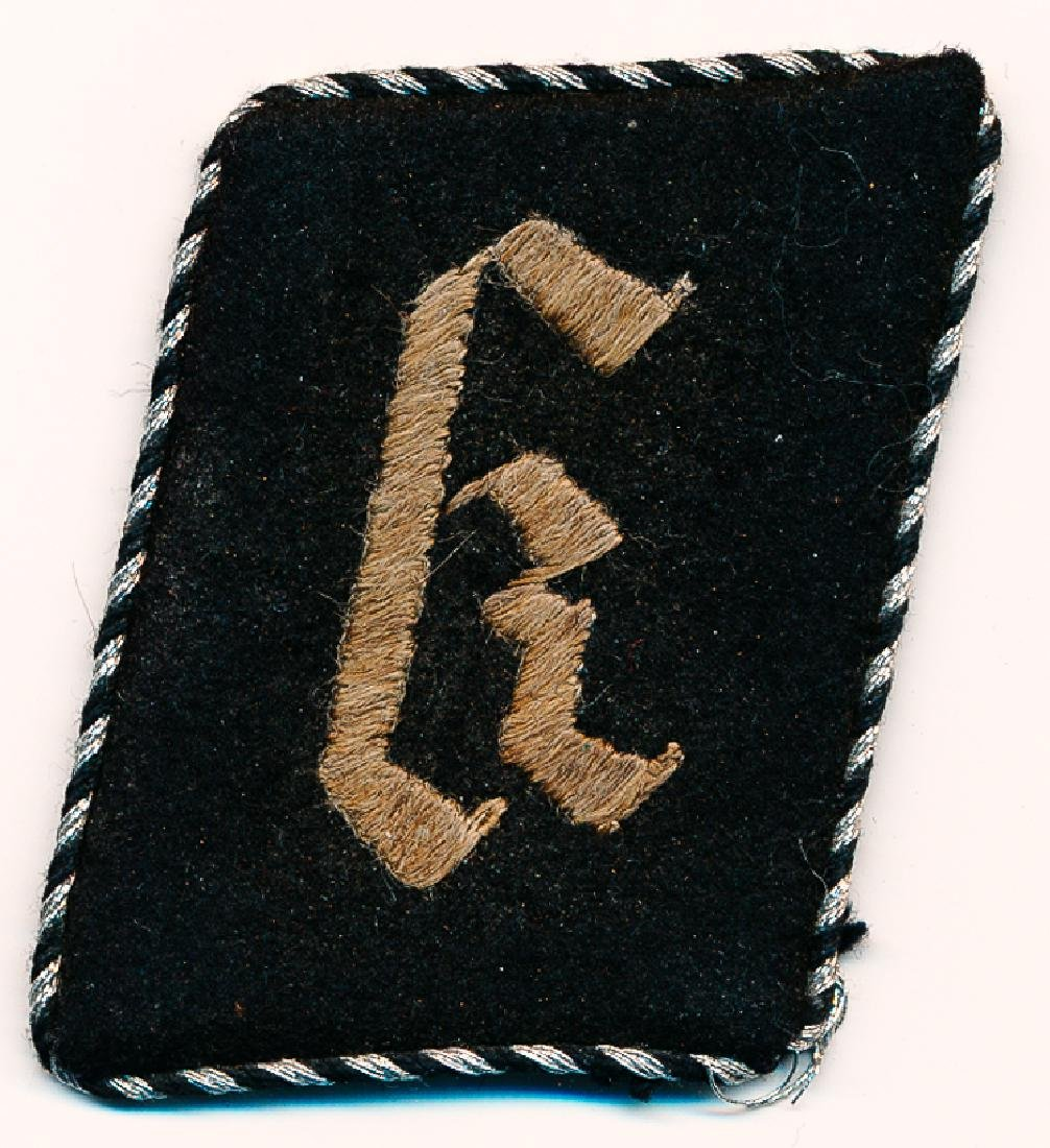 SS-TOTENKOPF CONCENTRATION CAMP COLLAR TAB