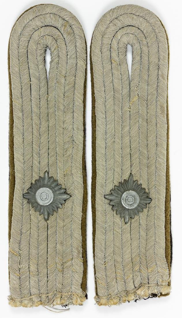 SS-TOTENKOPF CONCENTRATION CAMP SHOULDER BOARDS