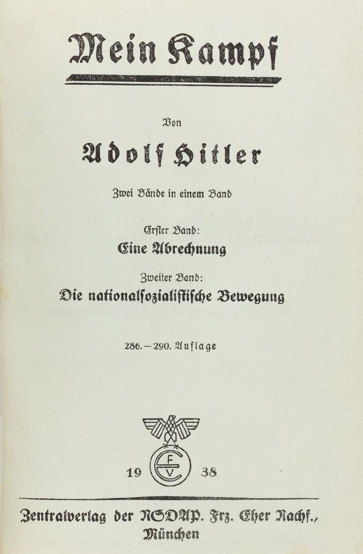 "PRESENTATION ""MEIN KAMPF"" TO ADOLF HITLER - 7"