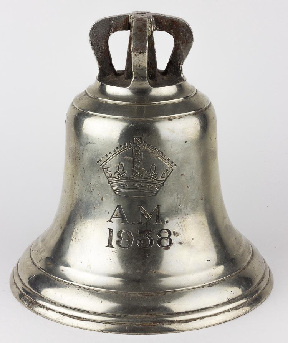 "BRITISH AIR MINISTRY ""SCRAMBLE"" BELL"
