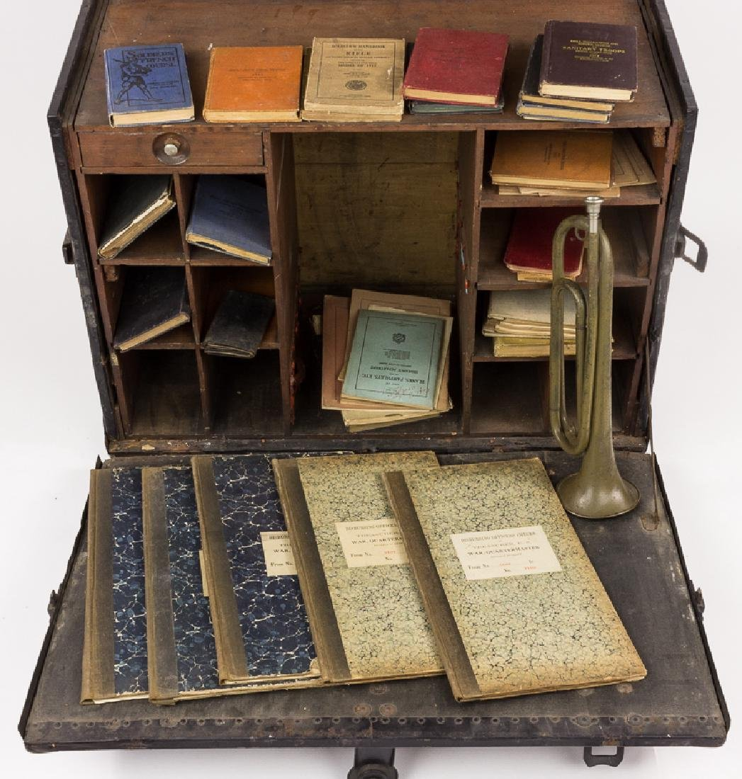 QUARTERMASTER'S TRAVELLING DESK AND REFERENCE LIBRARY - 2