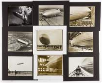 ZEPPELIN HINDENBURG PHOTO GROUPING