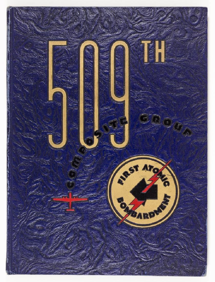 509TH COMPOSITE GROUP ALBUM, SIGNED BY ENOLA GAY