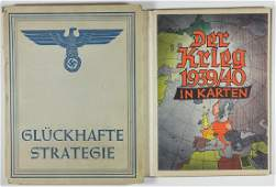 GERMAN WAR MAP BOOKS