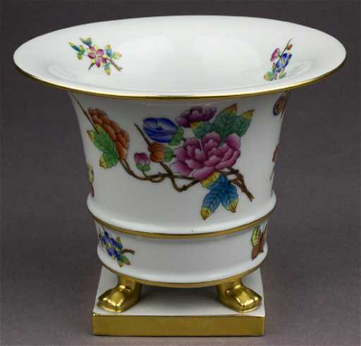 Herend Vase Presented To Adolf Hitler By Miklos Horthy