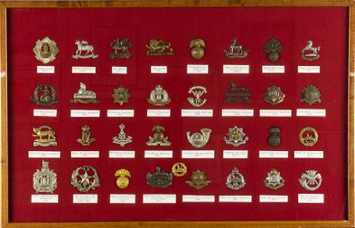 1914 BRITISH INFANTRY REGIMENT CAP BADGES - Apr 18, 2018 | Alexander