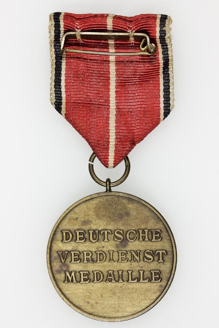 GERMAN SERVICE MEDAL OF THE GERMAN EAGLE - 2