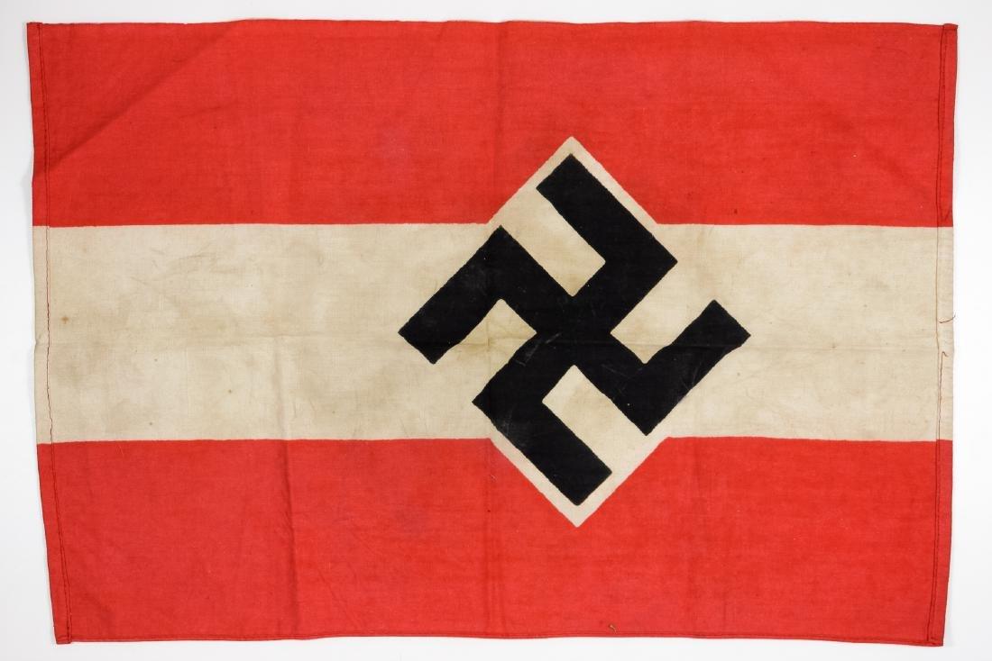 HITLER YOUTH DISPLAY FLAG - 2