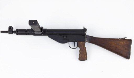 DEACTIVATED STEN MARK V SUBMACHINE GUN