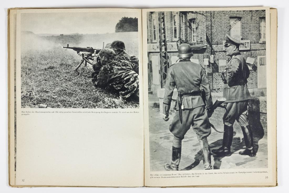 """DAMALS"" - PHOTO HISTORY OF THE SS-TOTENKOPF DIVISION - 6"