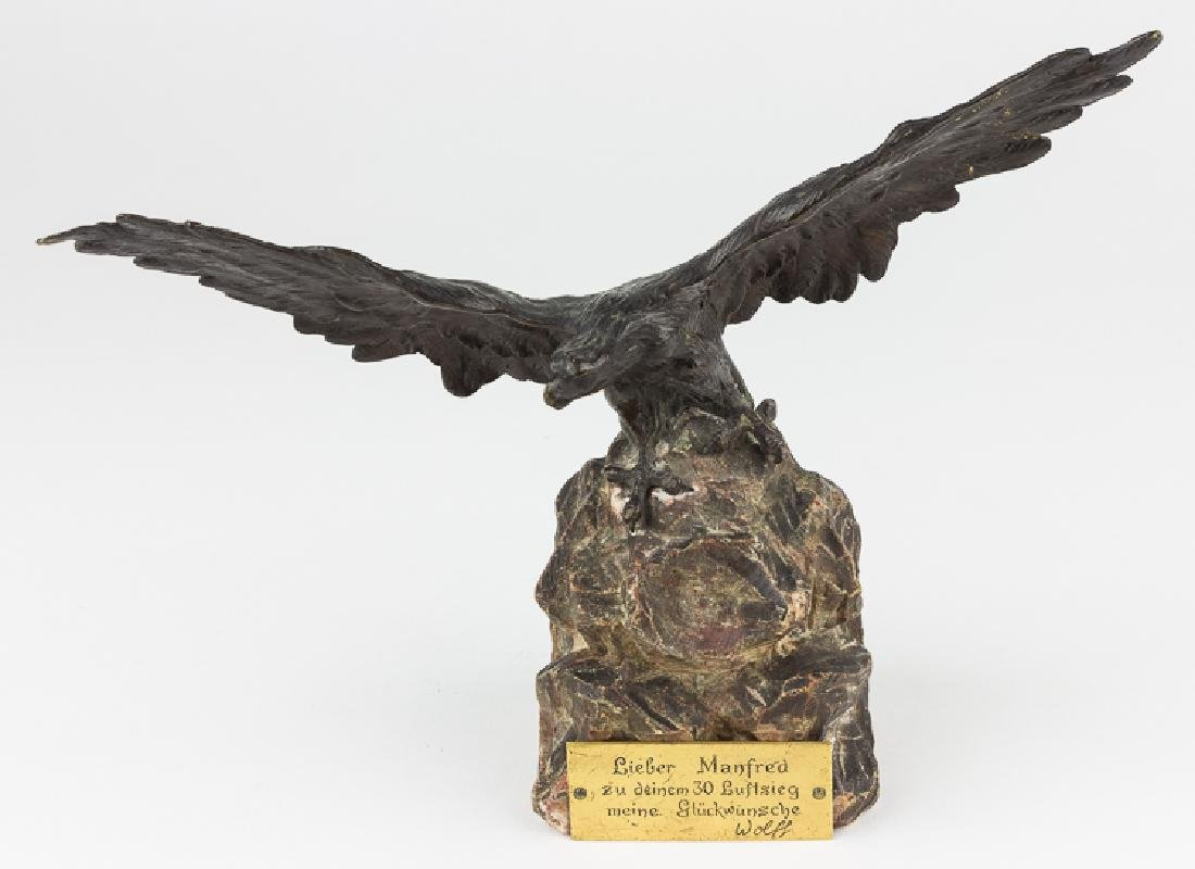 EAGLE TROPHY PRESENTED TO MANFRED VON RICHTHOFEN