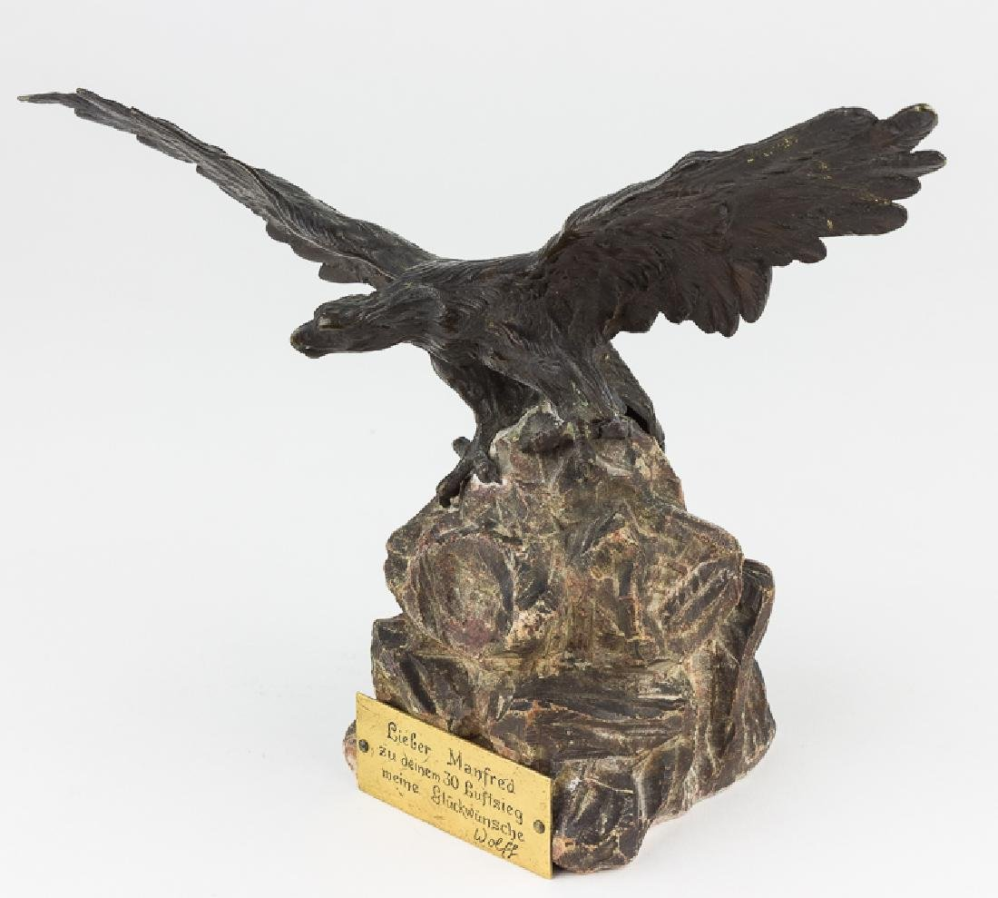 EAGLE TROPHY PRESENTED TO MANFRED VON RICHTHOFEN - 2