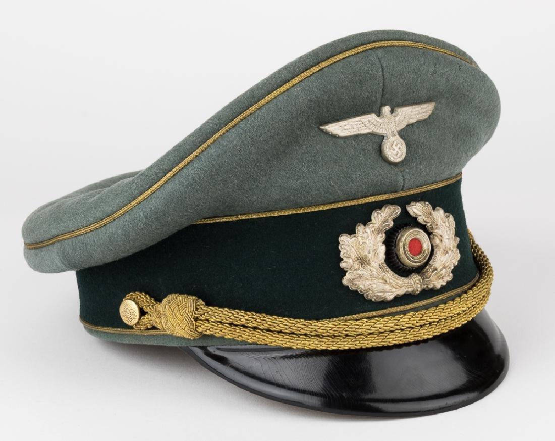 GENERAL FRANZ HALDER UNIFORM & VISOR - 2